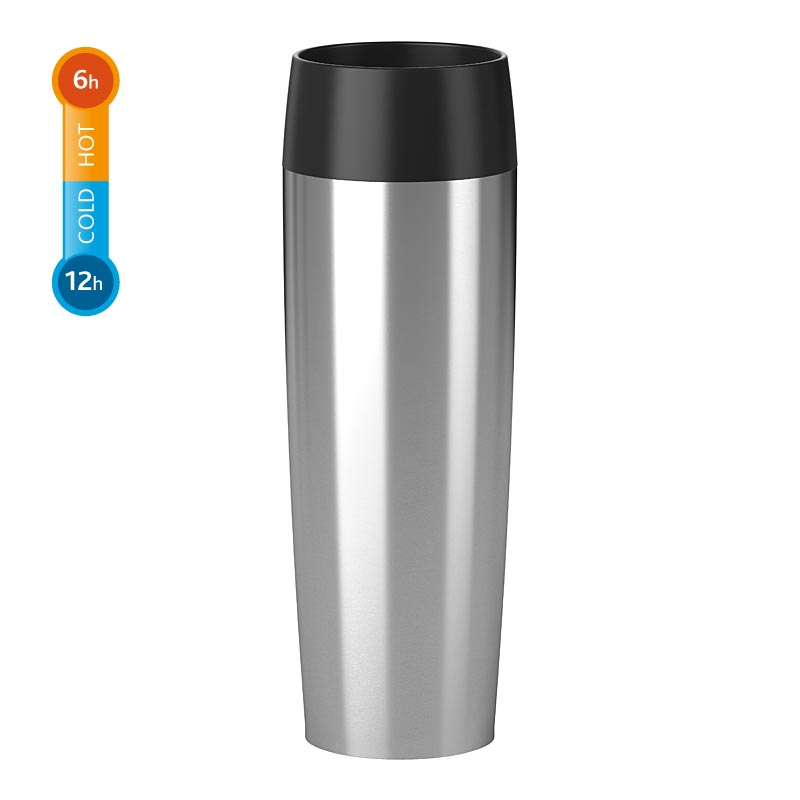 emsa travel mug grande 0 5 liter edelstahl thermobecher isolierbecher becher. Black Bedroom Furniture Sets. Home Design Ideas