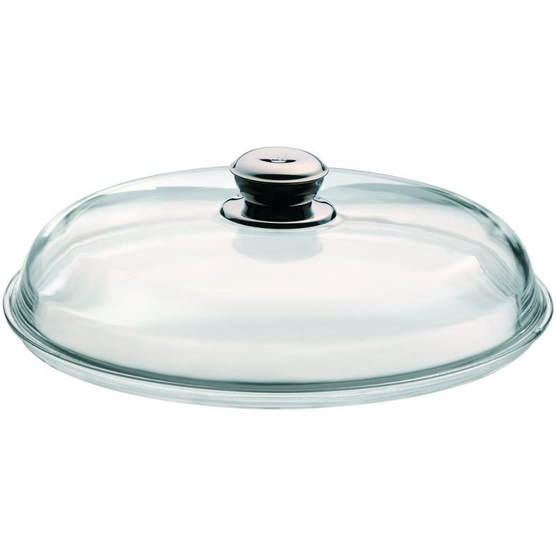 Wmf glasdeckel mit metallknauf f r pfannen 28 cm for Pfannendeckel glas 28cm