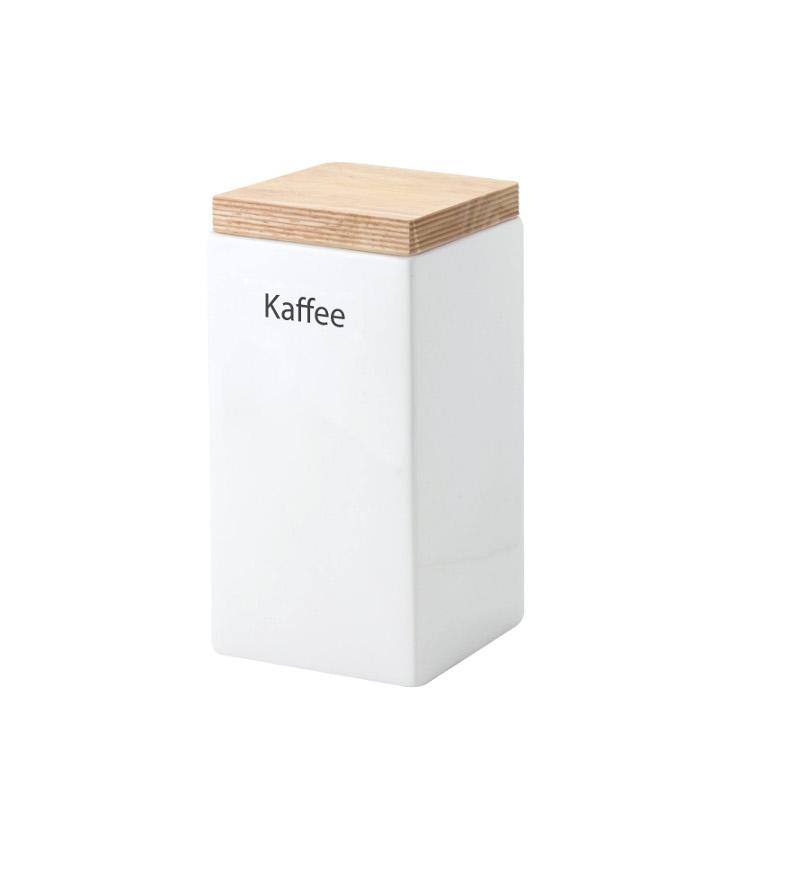 Continenta Vorratsdose mit Holzdeckel quadratisch 1200 ml