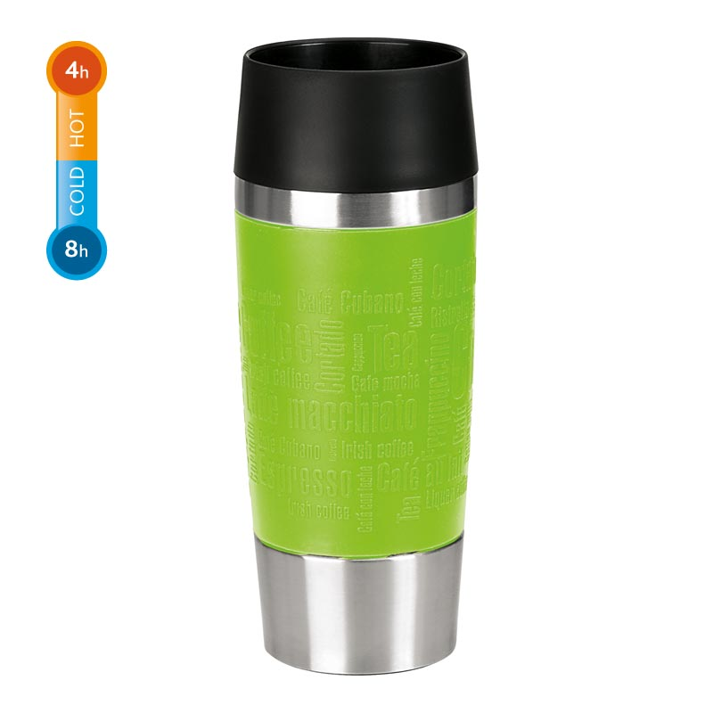 Emsa Thermobecher Travel Mug 0,36 Liter Limette