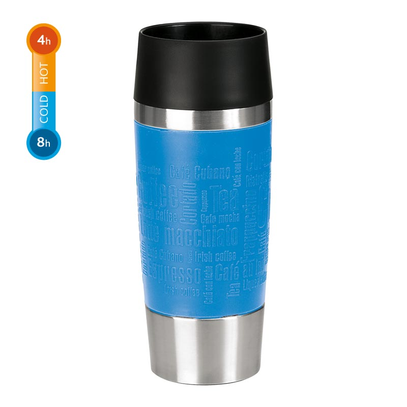 Emsa Thermobecher Travel Mug 0,36 Liter Wasserblau