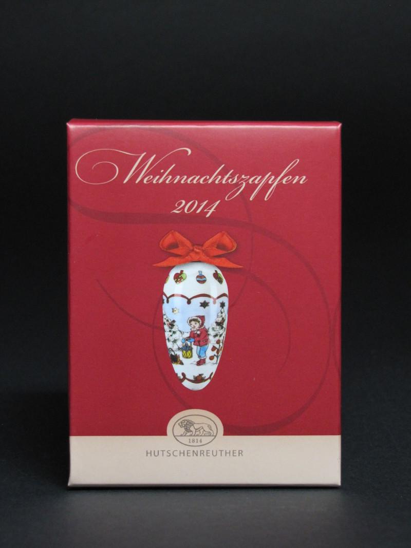 Hutschenreuther Porzellan-Weihnachtszapfen 2014