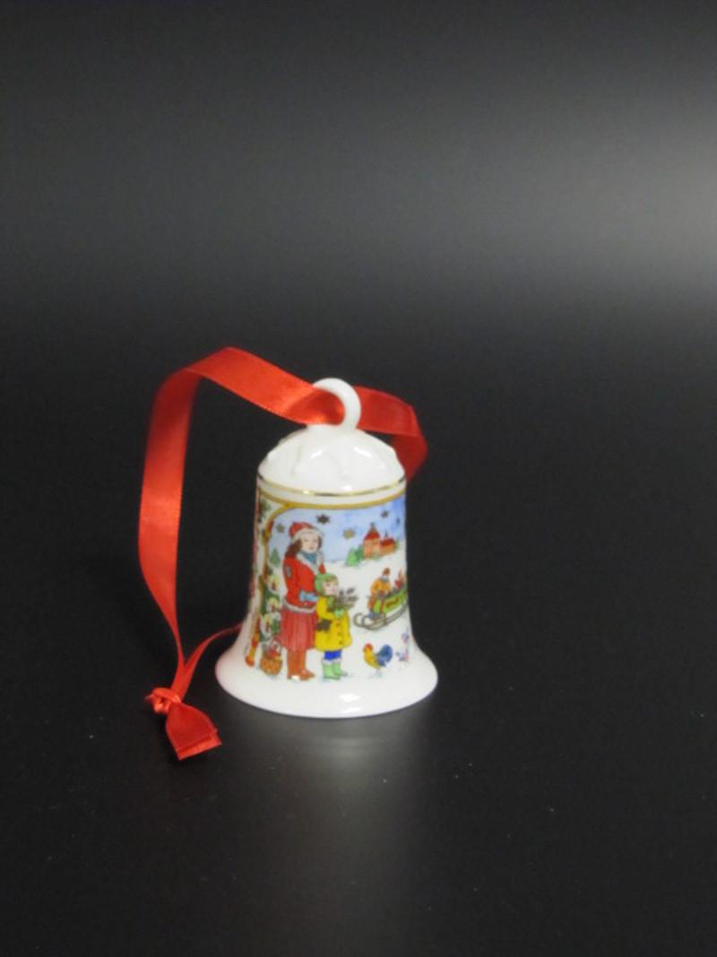 Hutschenreuther Porzellan-Weihnachtsglocke 2014