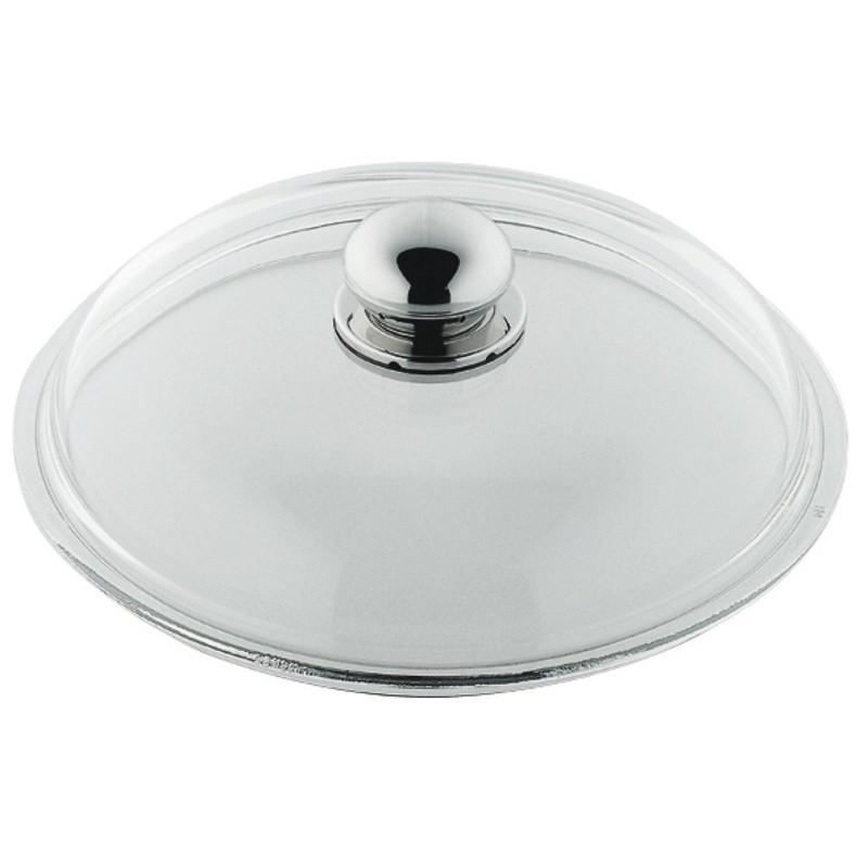 Silit Glasdeckel mit Metallknauf für Pfannen 24 cm