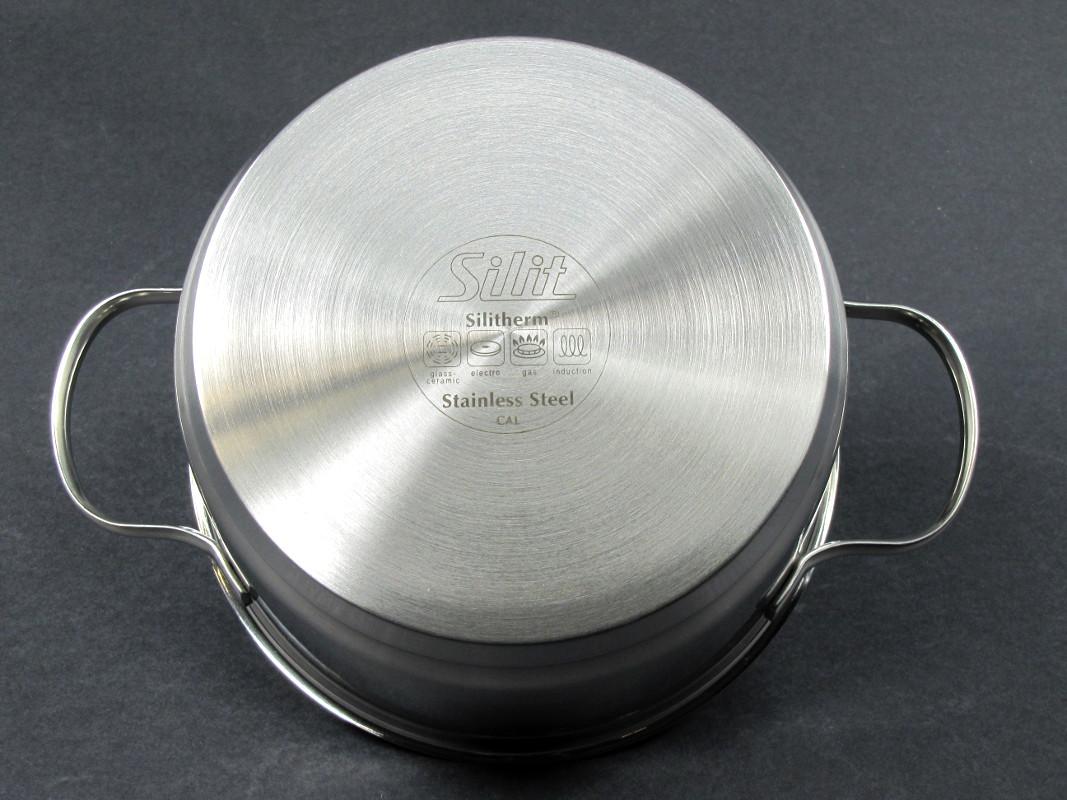 Silit Topfset Toskana 10 Tlg Mit 2 Pfannen Und Spritzschutzdeckel