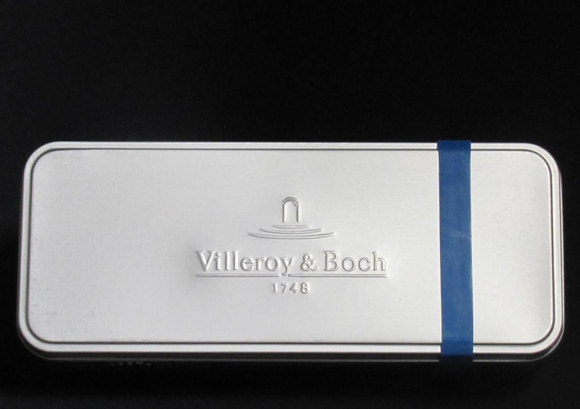 villeroy boch besteck set s 30 tlg petrol besteck v b neu ovp 1264239050 ebay. Black Bedroom Furniture Sets. Home Design Ideas