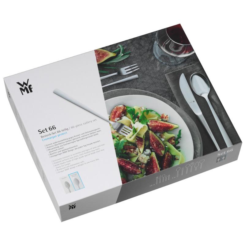 WMF Besteck Kent 66 tlg. Cromargan Protect mit Monobloc-Messer