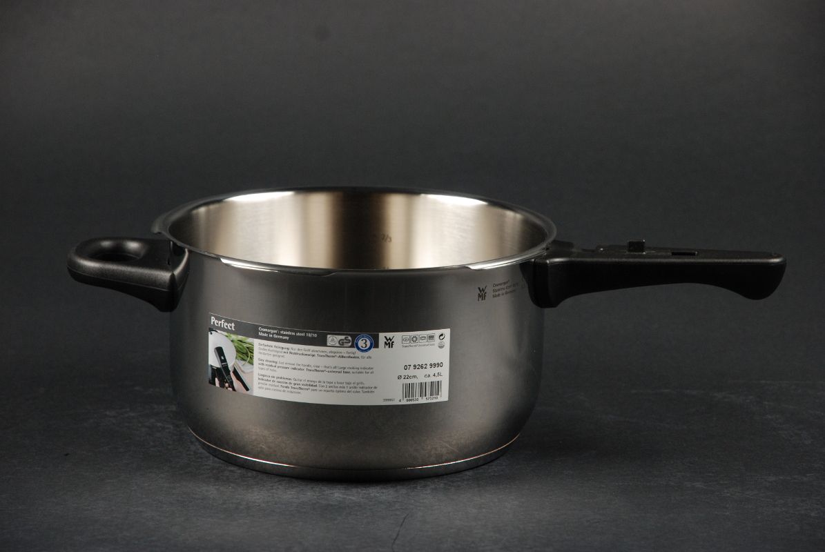 WMF Schnellkochtopf-Set Perfect RDS 4,5 + 3,0 Liter