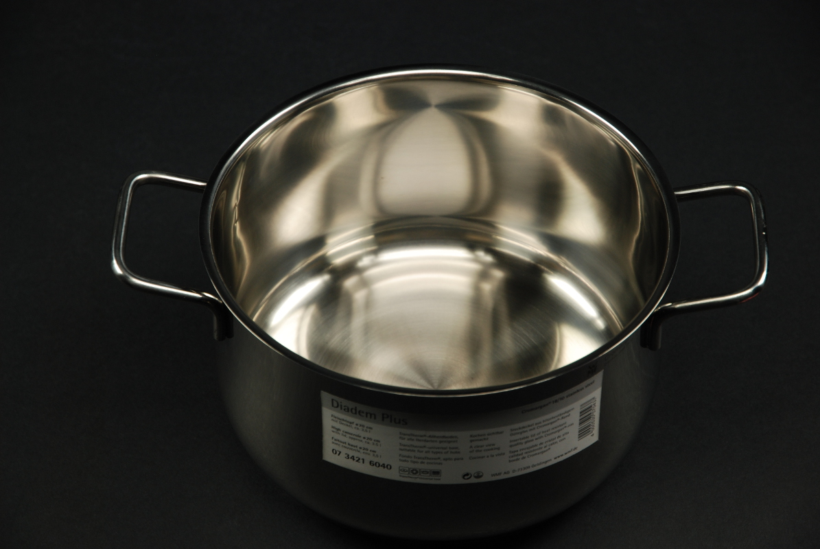 WMF Topfset Diadem Plus 3 tlg. mit Stielkasserolle