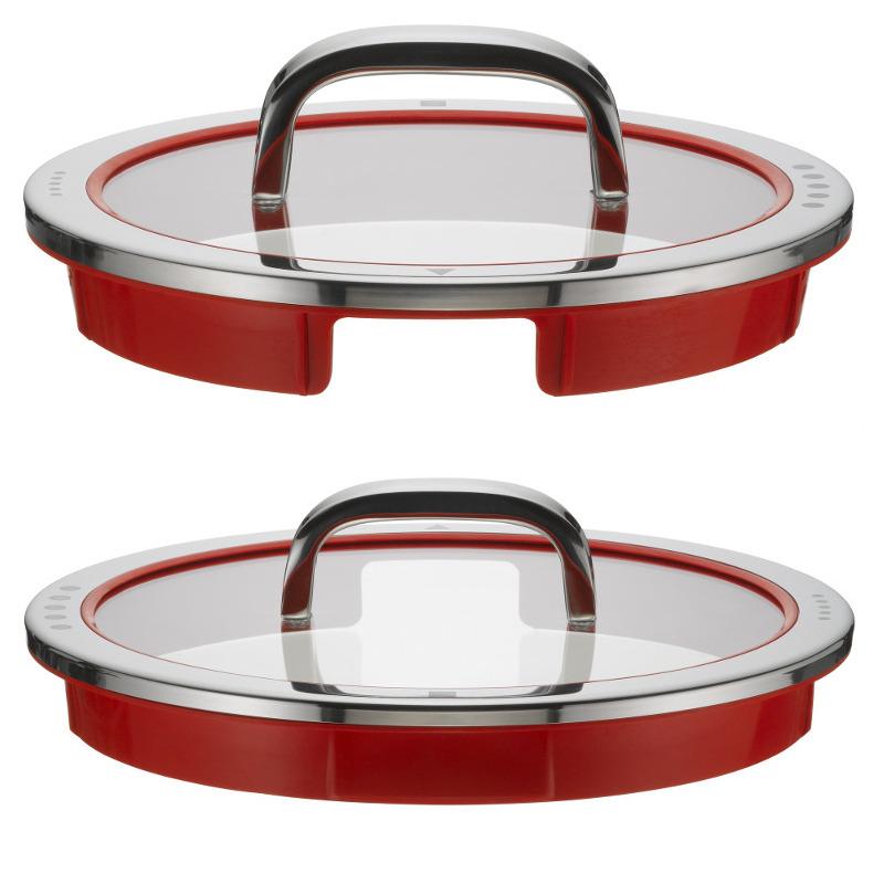 wmf topfset function 4 red 5 tlg mit d nsteinsatz topfset. Black Bedroom Furniture Sets. Home Design Ideas